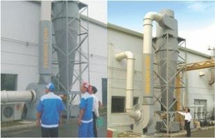 Hệ thống xử lý bụi, khí thải trong công nghiệp