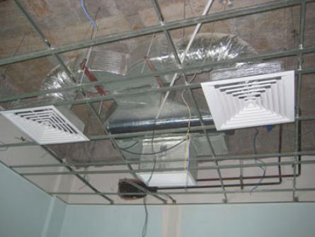 Ống gió máy lạnh công nghiệp