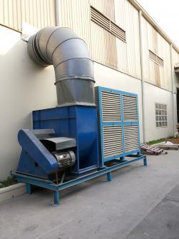 Hệ thống cấp khí sạch công nghiệp.