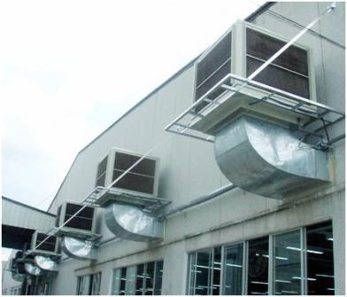 Hệ thống cấp khí sạch công nghiệp 2.